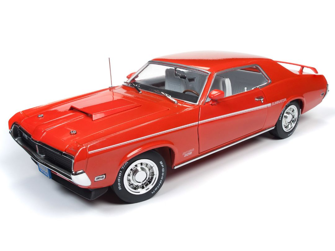 American Muscle 1/18 1969 Mercury Cougar Hardtop (50th Annivers
