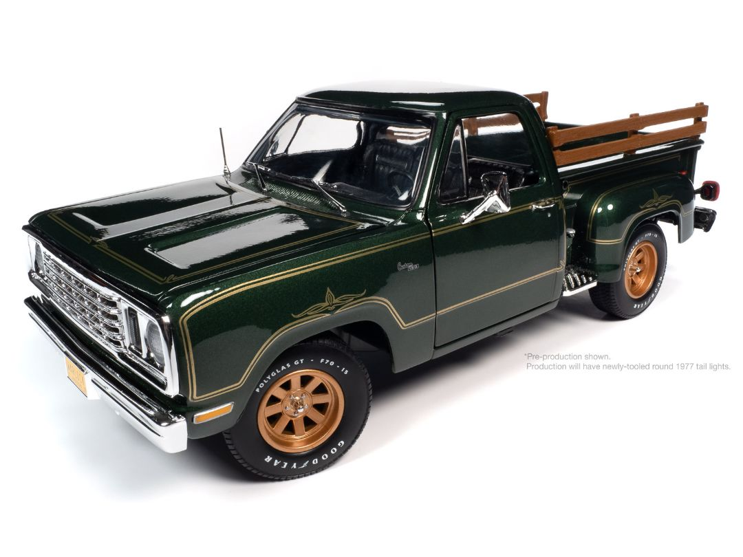 American Muscle 1/18 1977 Dodge Pick up Step Side Warlock