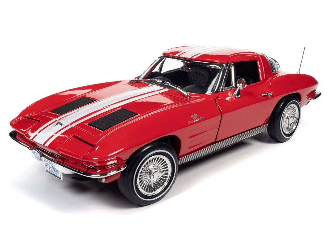 American Muscle 1/18 1963 Chevy Corvette Stingray Z06 Coupe