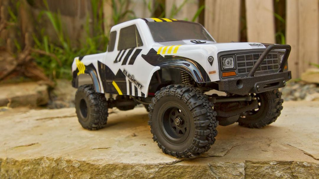 Element RC Enduro24 Sendero Trail Truck RTR, black and yellow - Click Image to Close