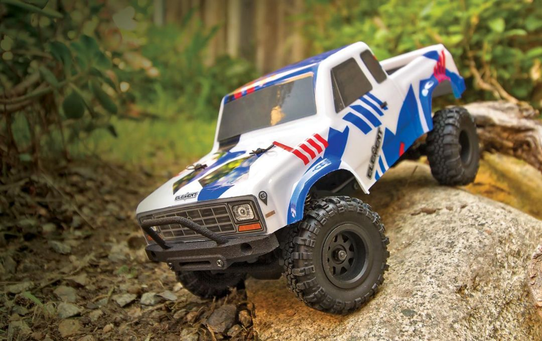 Element RC Enduro24 Sendero Trail Truck RTR, red and blue