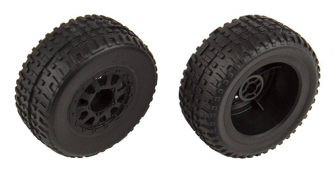 Team Associated SC18 Mounted Wheels/Tires