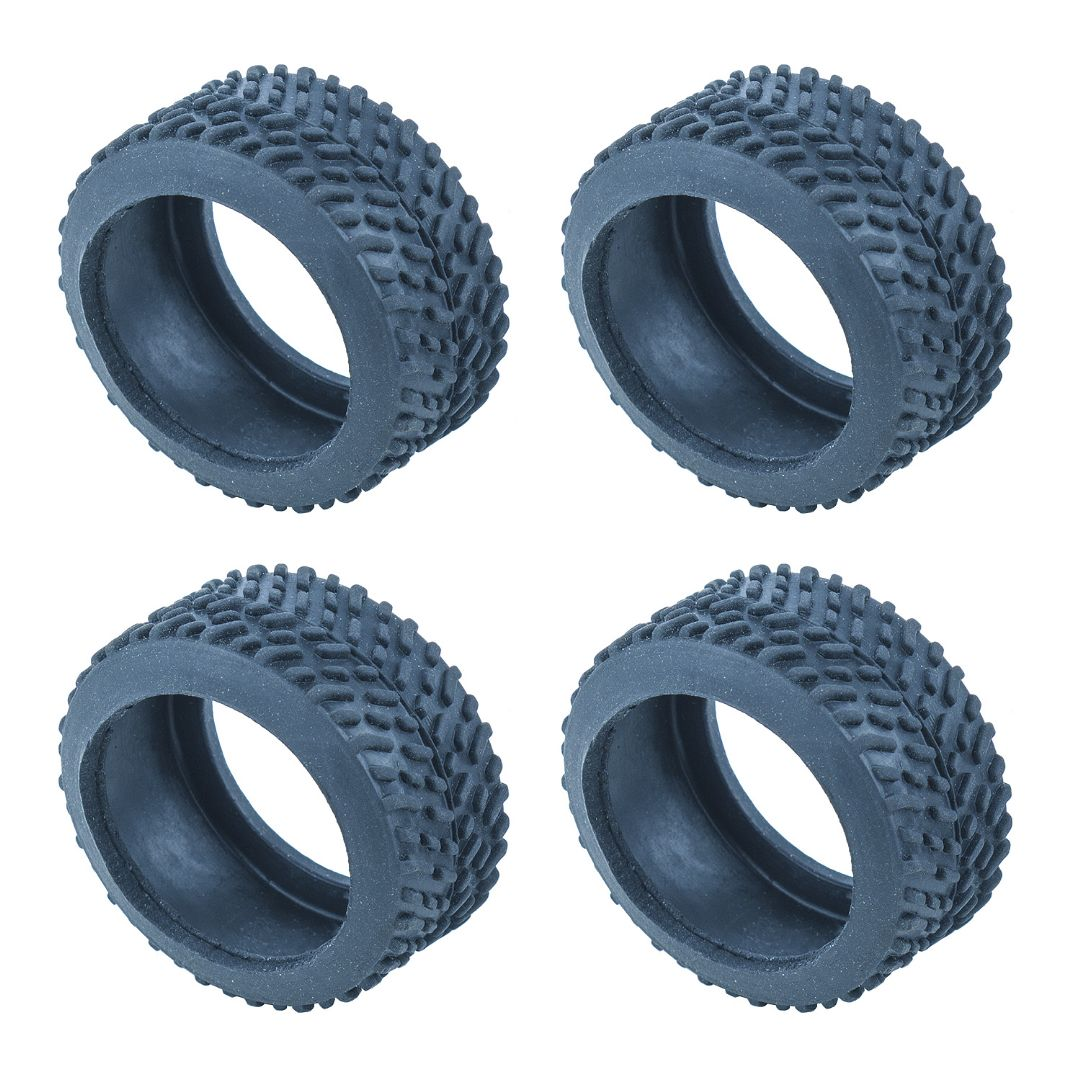 Team Associated NanoSport Pin Tires, blue