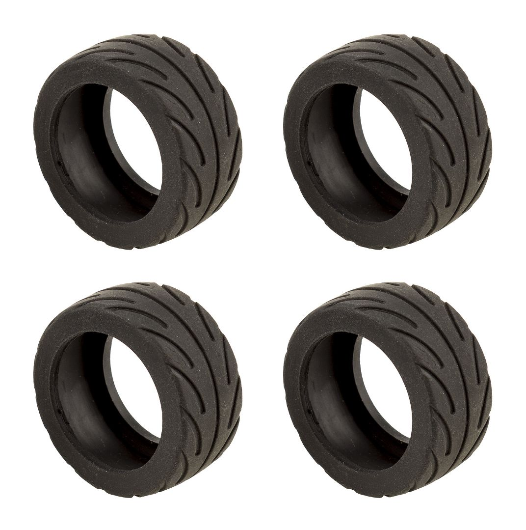 Team Associated NanoSport Radial Tires, black