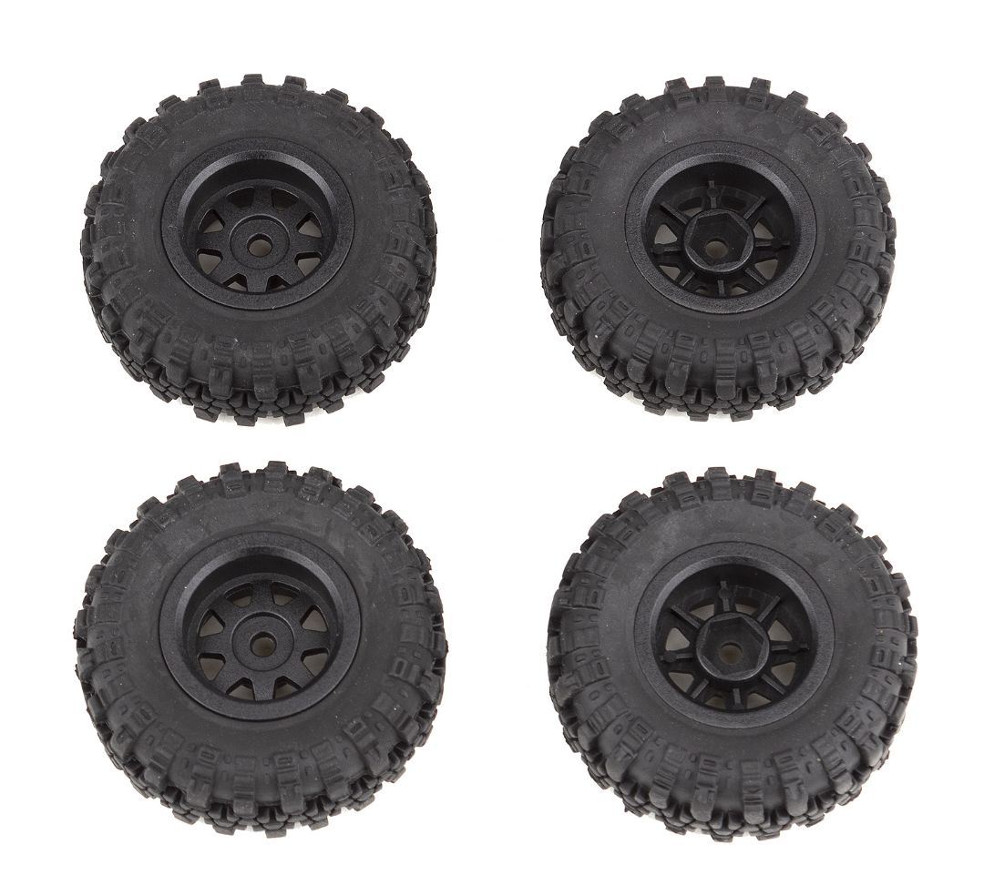 Element RC Enduro24 Wheels and Tires, mounted