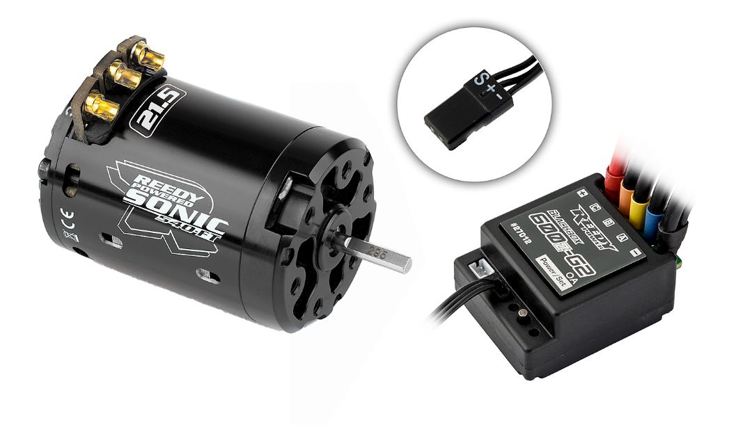 Reedy Blackbox 600Z-G2 ESC / Sonic 540-FT 21.5 Combo