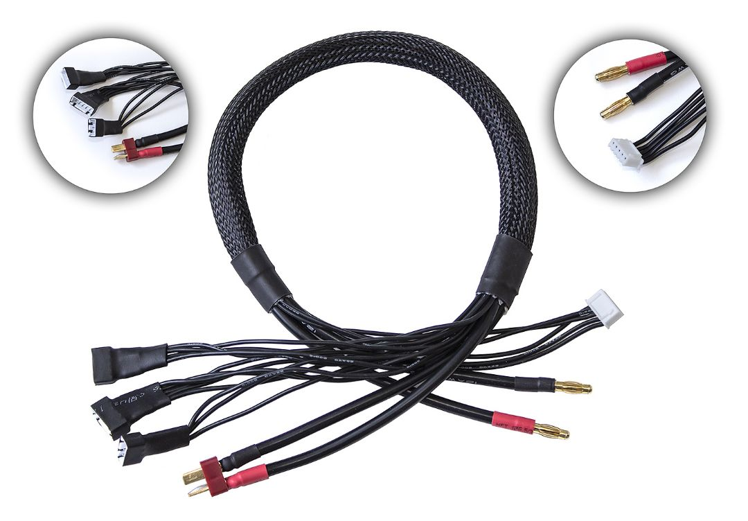 Reedy 2S-4S T-plug Pro Charge Lead
