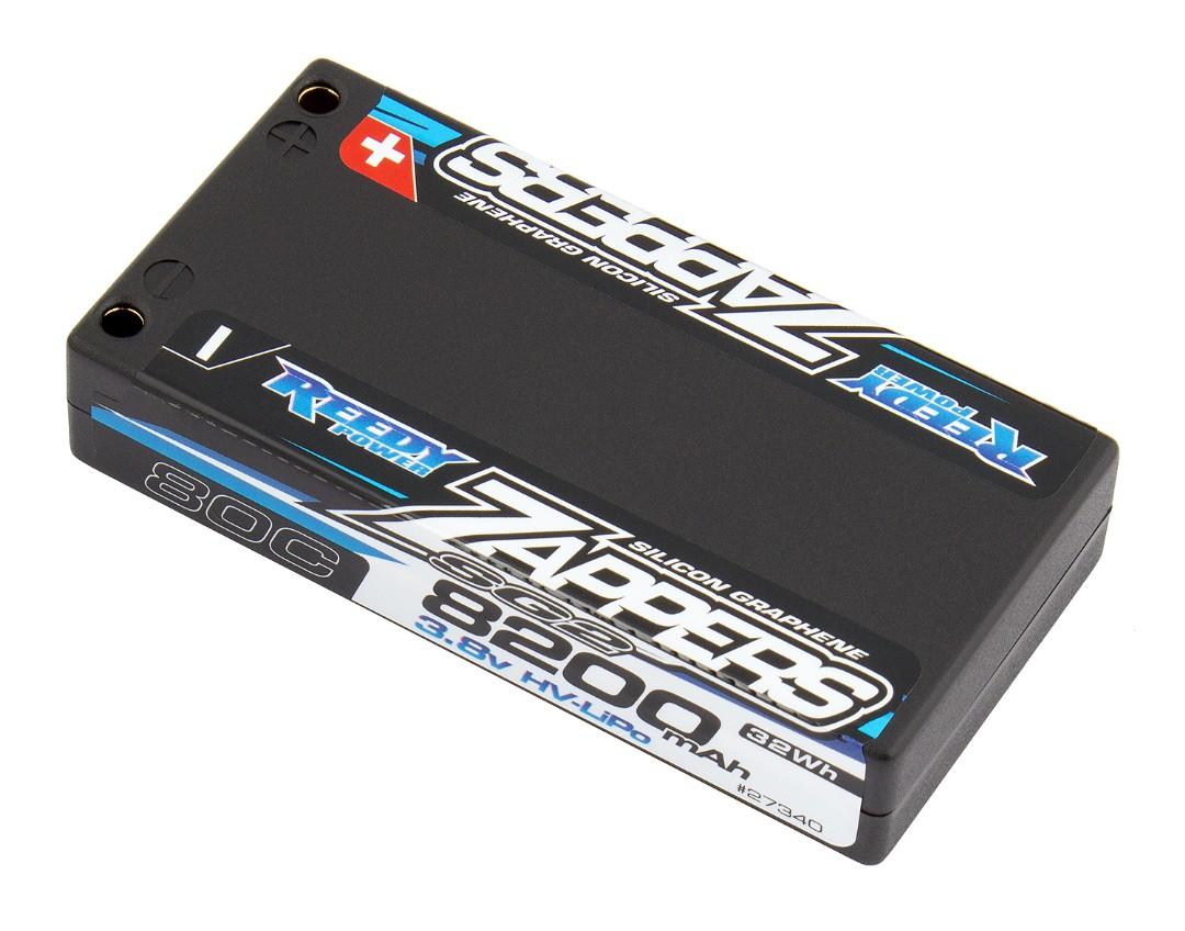 Reedy Zappers SG2 8200mAh 1S 3.8V LiPo 1/12 92.8x46.5x18.3mm
