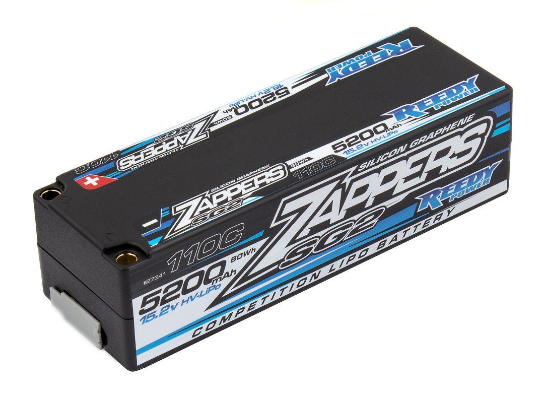Reedy Zappers SG2 5200mAh 110C 15.2V LiPo LCG 138x46.8x38.2mm