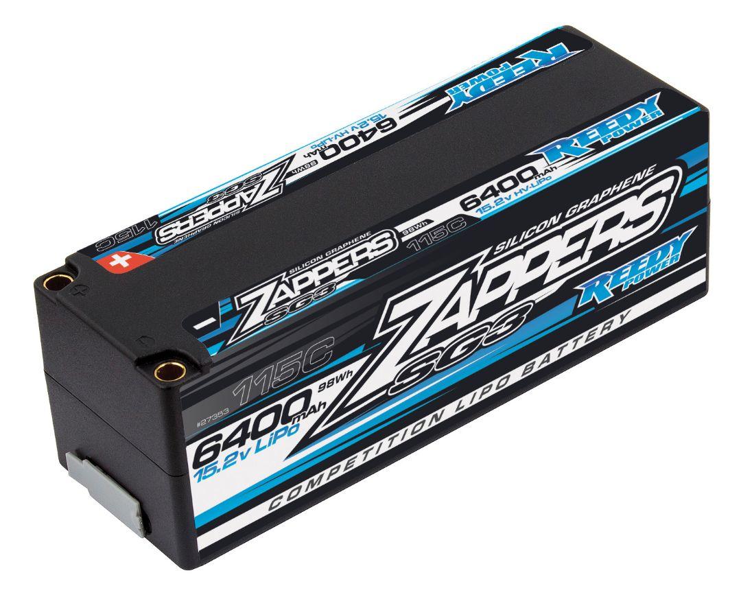 Reedy Zappers SG3 LiPo 6400mAh 115C 15.2V Stick 138x46.8x47.5mm