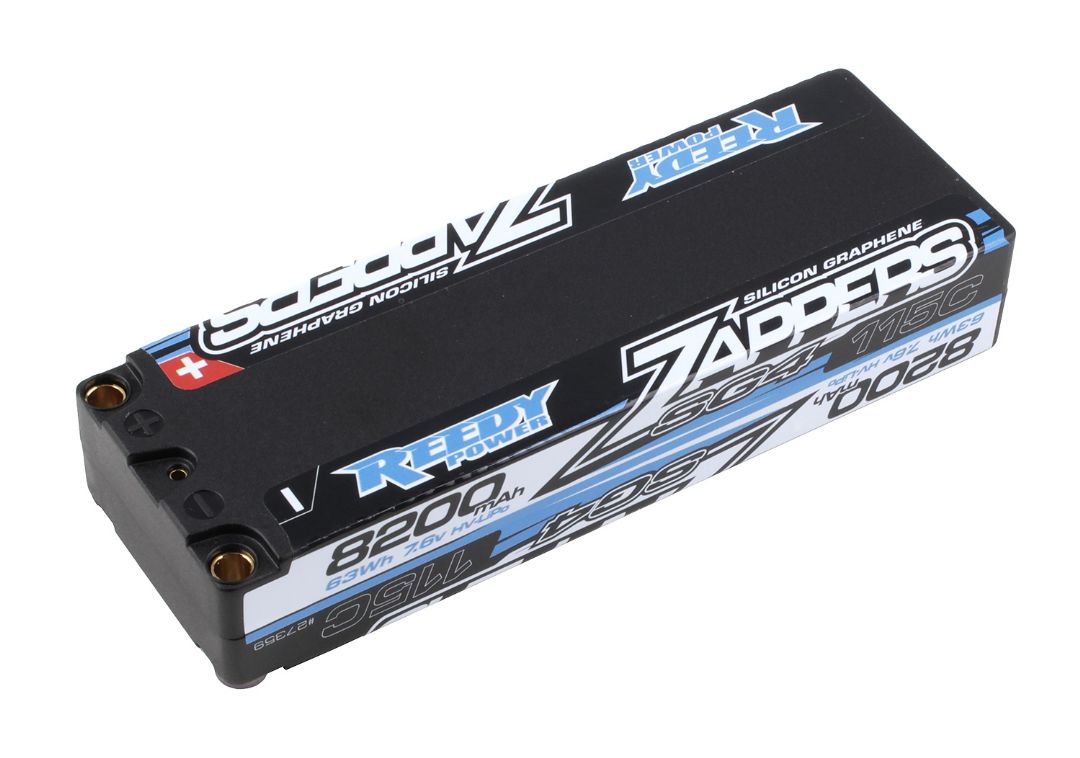 Reedy Zappers SG4 8200mAh 115C 7.6V Stick 139x47x25.1mm