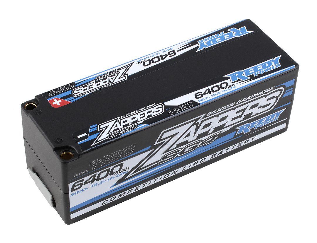Reedy Zappers SG4 6400mAh 115C 15.2V Stick 139x47x48.2mm
