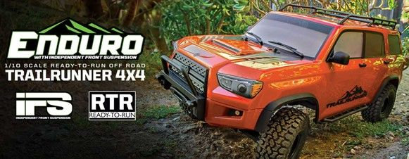 Element RC Enduro Trailrunner RTR LiPo Combo, Fire