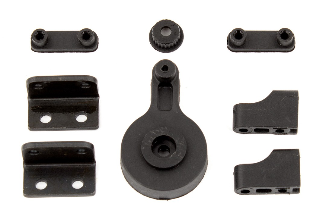 Team Associated CR12 Servo Saver and Servo Mounts