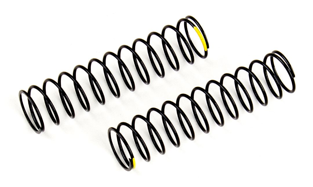 Element RC Shock Springs, yellow, 2.47 lb/in, L63 mm