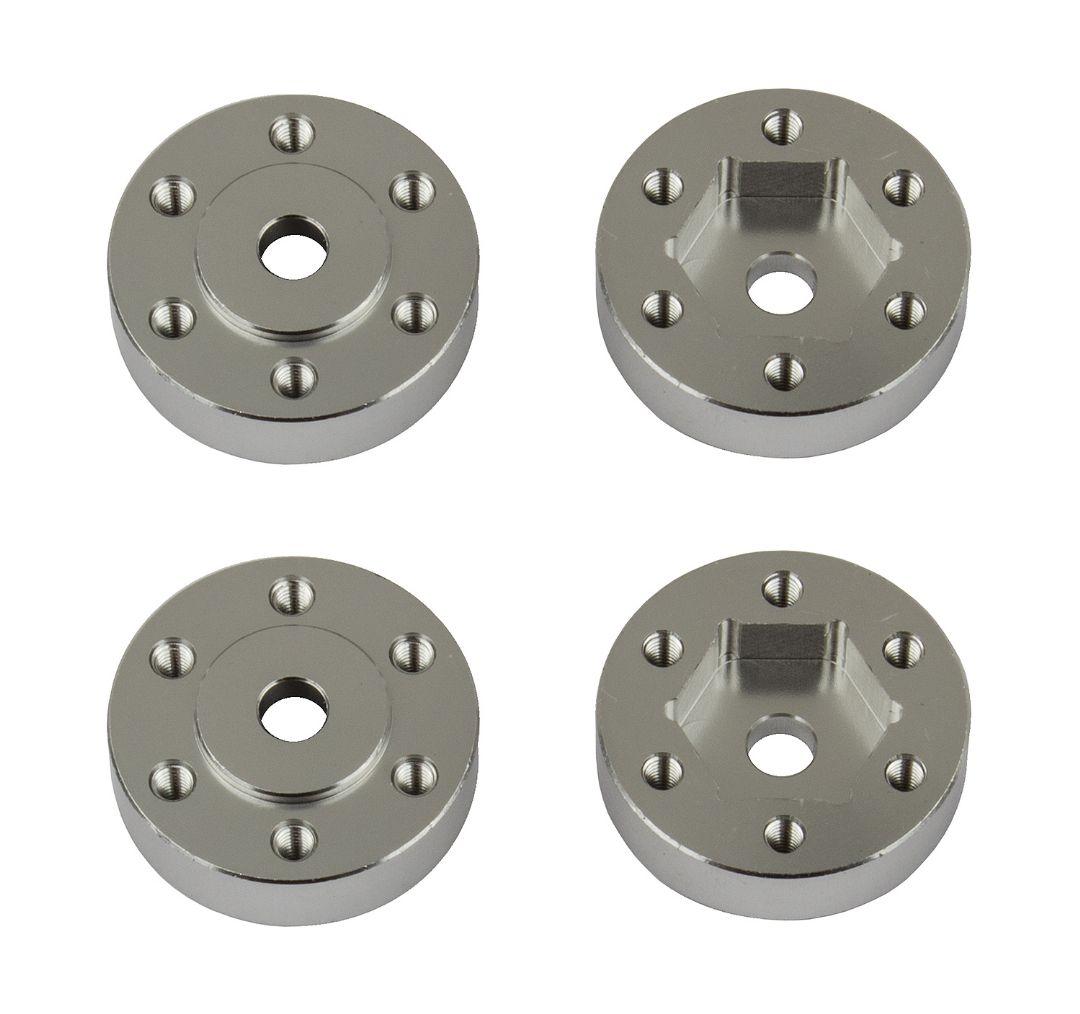 Element RC FT Enduro Beadlock Hex Adapters, aluminum
