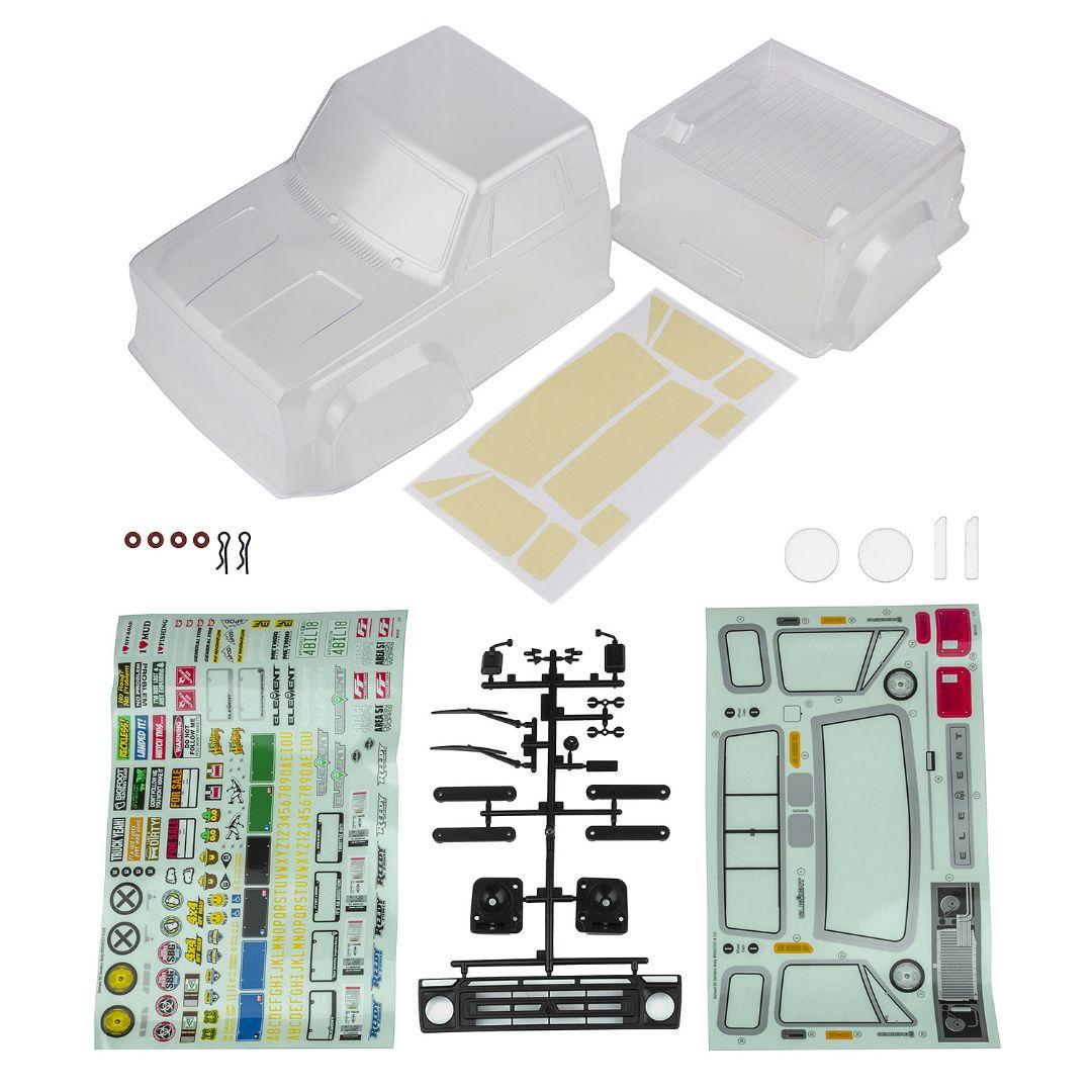 Element RC Sendero Body Set, clear
