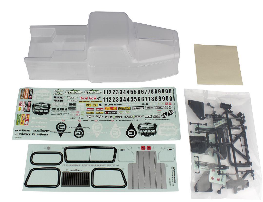 Element RC Enduro Ecto Body Set, clear