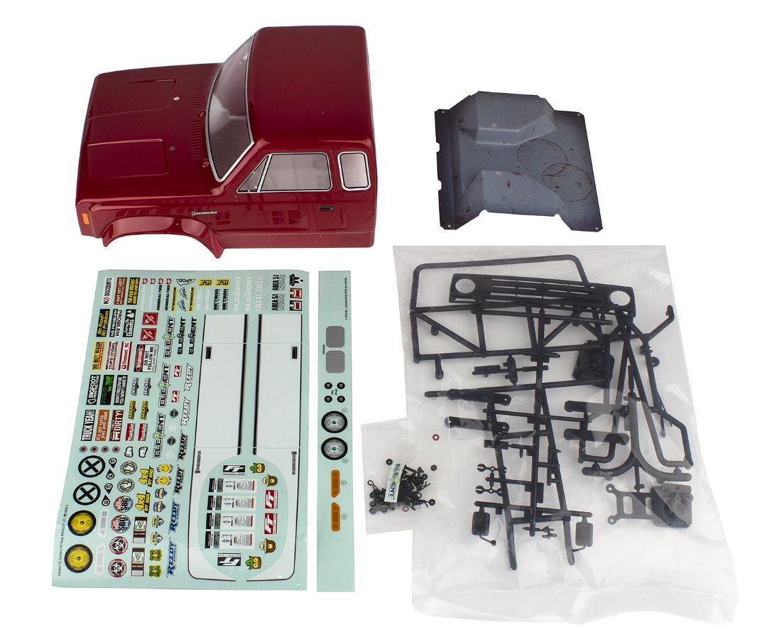 Element RC Sendero HD Body Set, red
