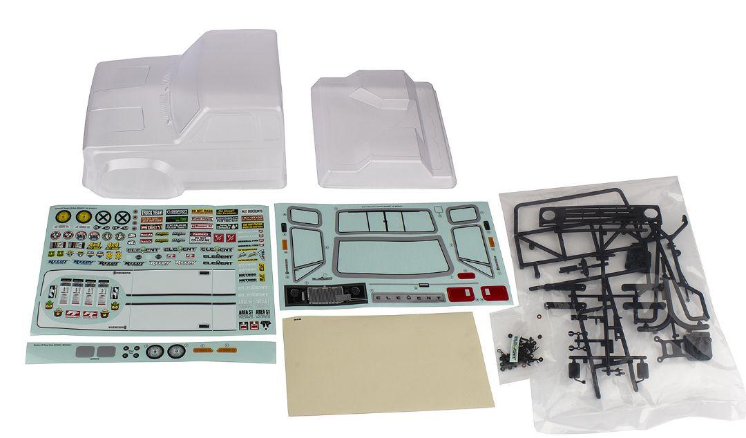 Element RC Sendero HD Body Set, clear