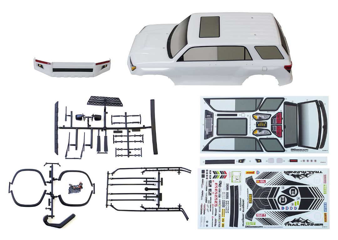 Element RC Trailrunner Body, white, with accessories