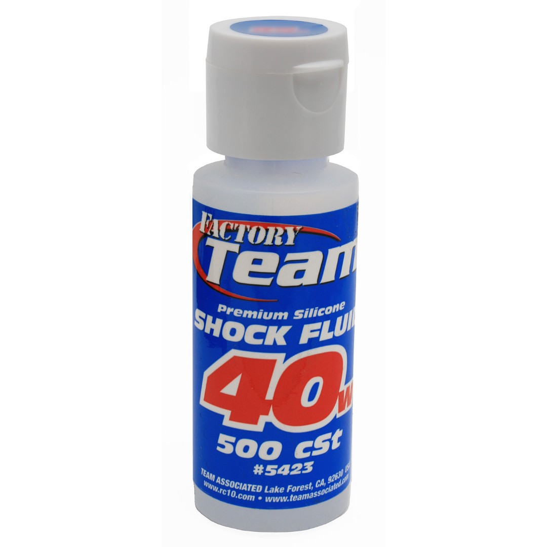 Team Associated Silicone Shock Oil (2oz) (40wt)