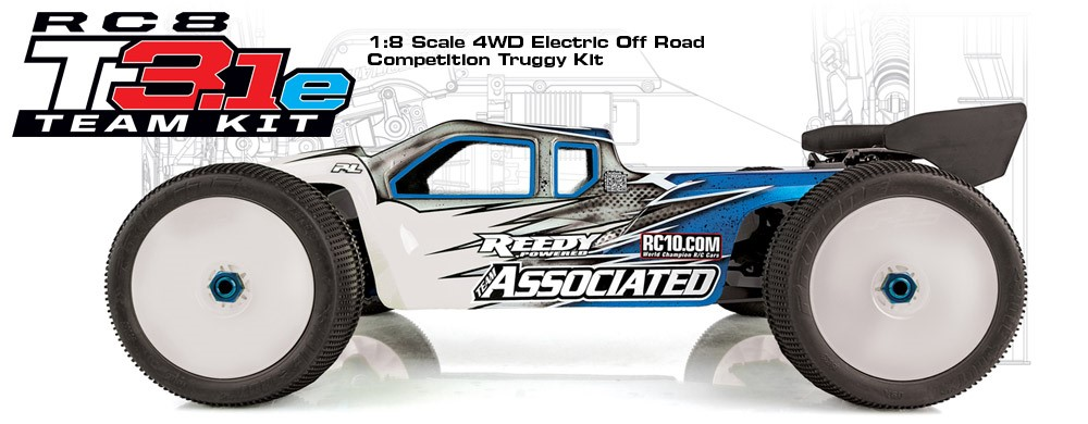 Team Associated RC8T3.1e Team Kit