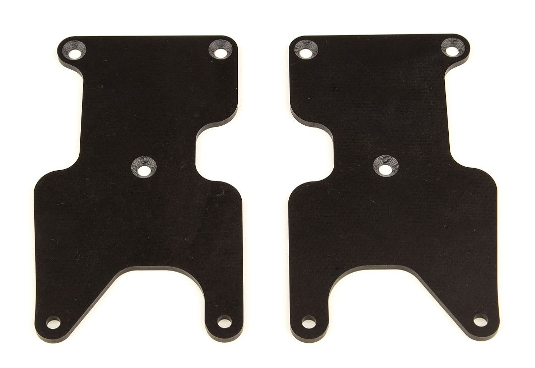 Team Associated RC8B3.2 FT Rear Suspension Arm Inserts, G10, Rea