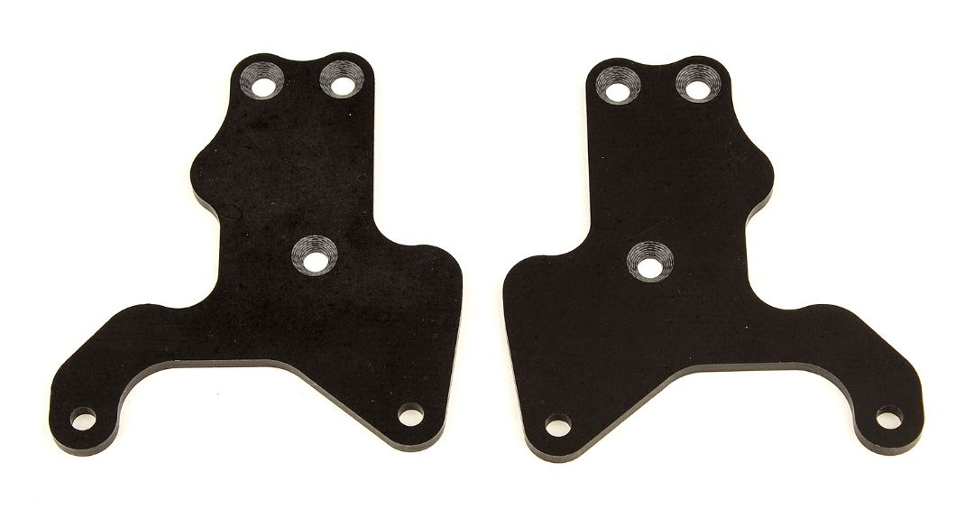 Team Associated RC8B3.2 FT Lower Suspension Arm Inserts, G10, Fr