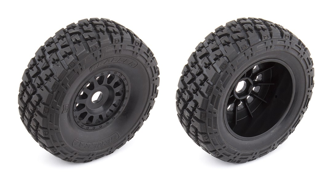 Team Associated Nomad Wheels/Tires, mounted