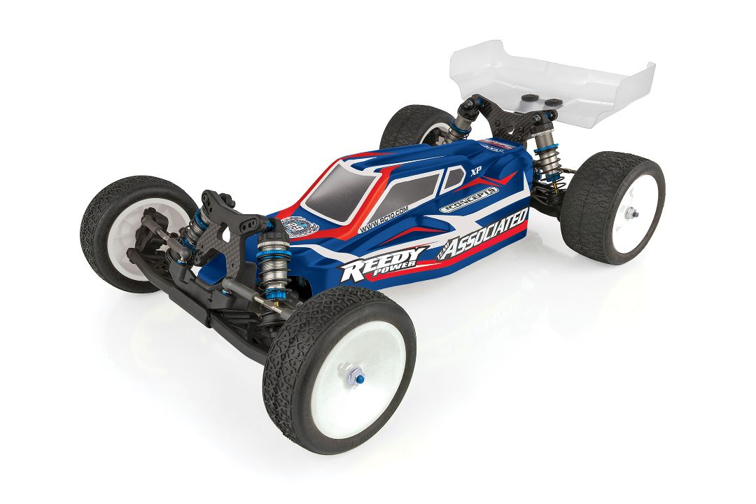 Team Associated RC10 1/10 B6.1DL Team Kit (dirt version with lay down transmission and ball differential)