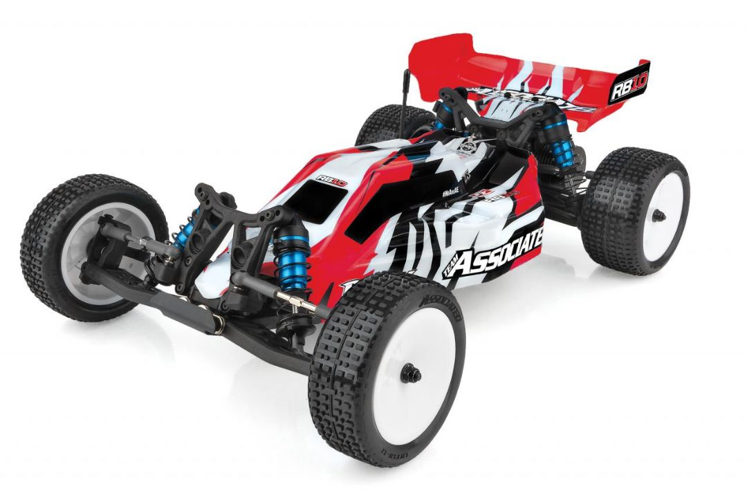 Team Associated 1/10 RB10 RTR - Red