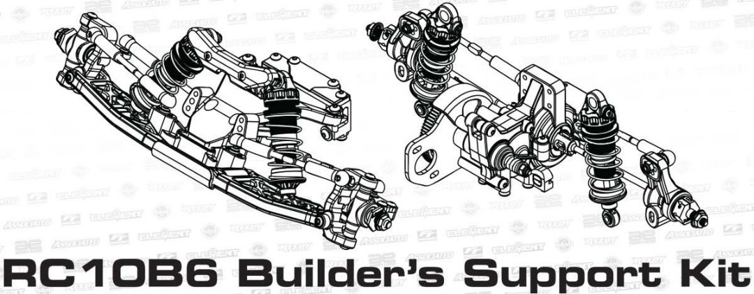 Team Associated RC10B6 Builder's Support Kit