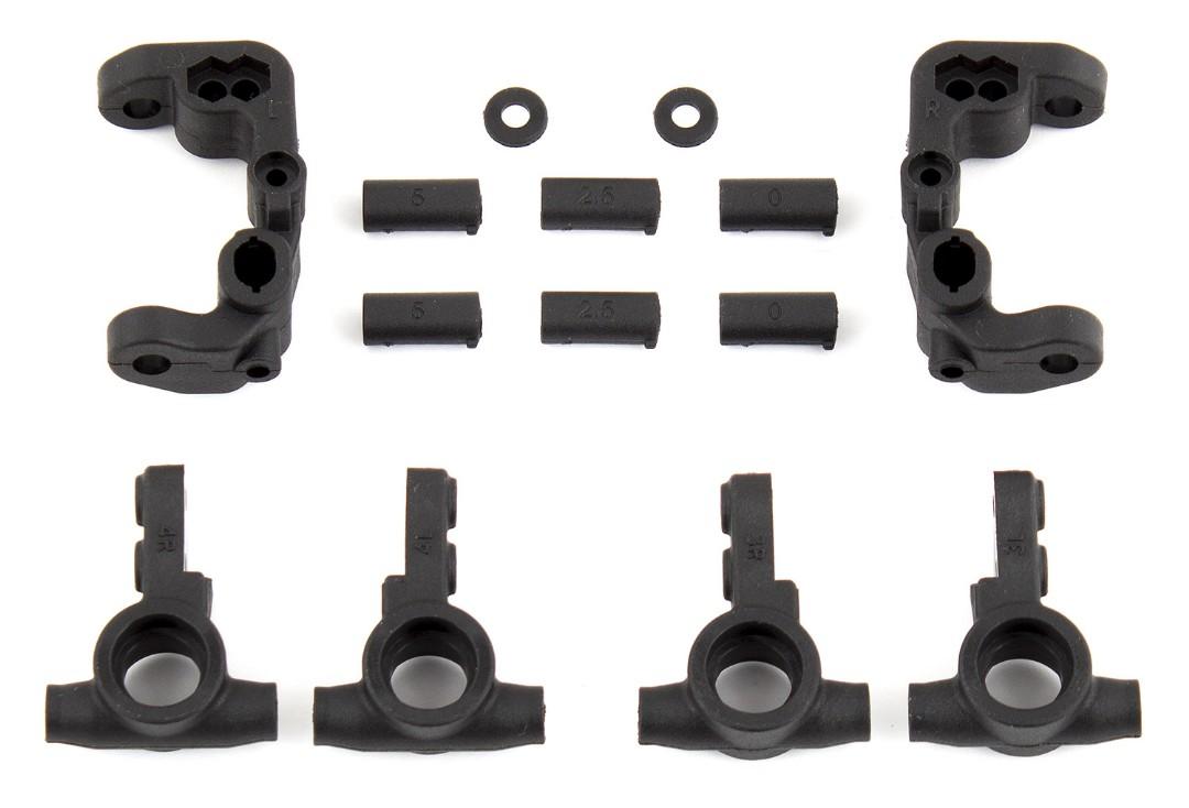 Team Associated B6.1 Caster and Steering Blocks