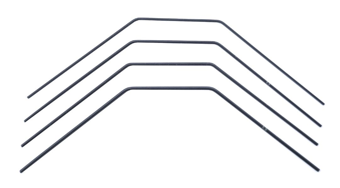 Team Associated RC10B74.1 Anti-roll Bar Set, 1.0-1.3mm