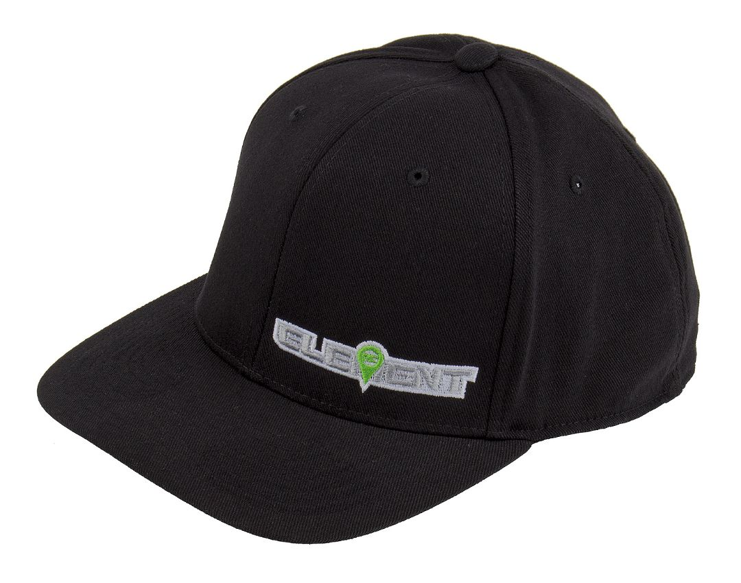 Element RC Hat, curved bill, black