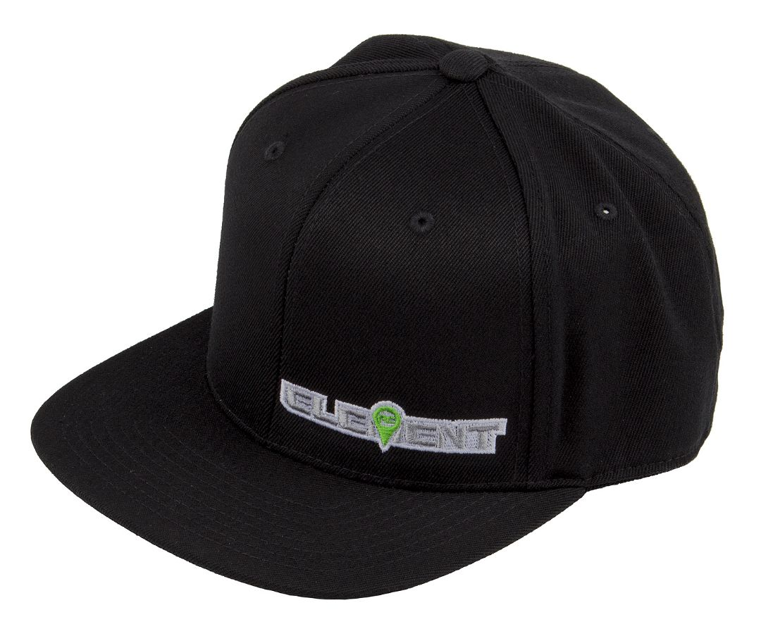 Element RC Hat, flat bill, black