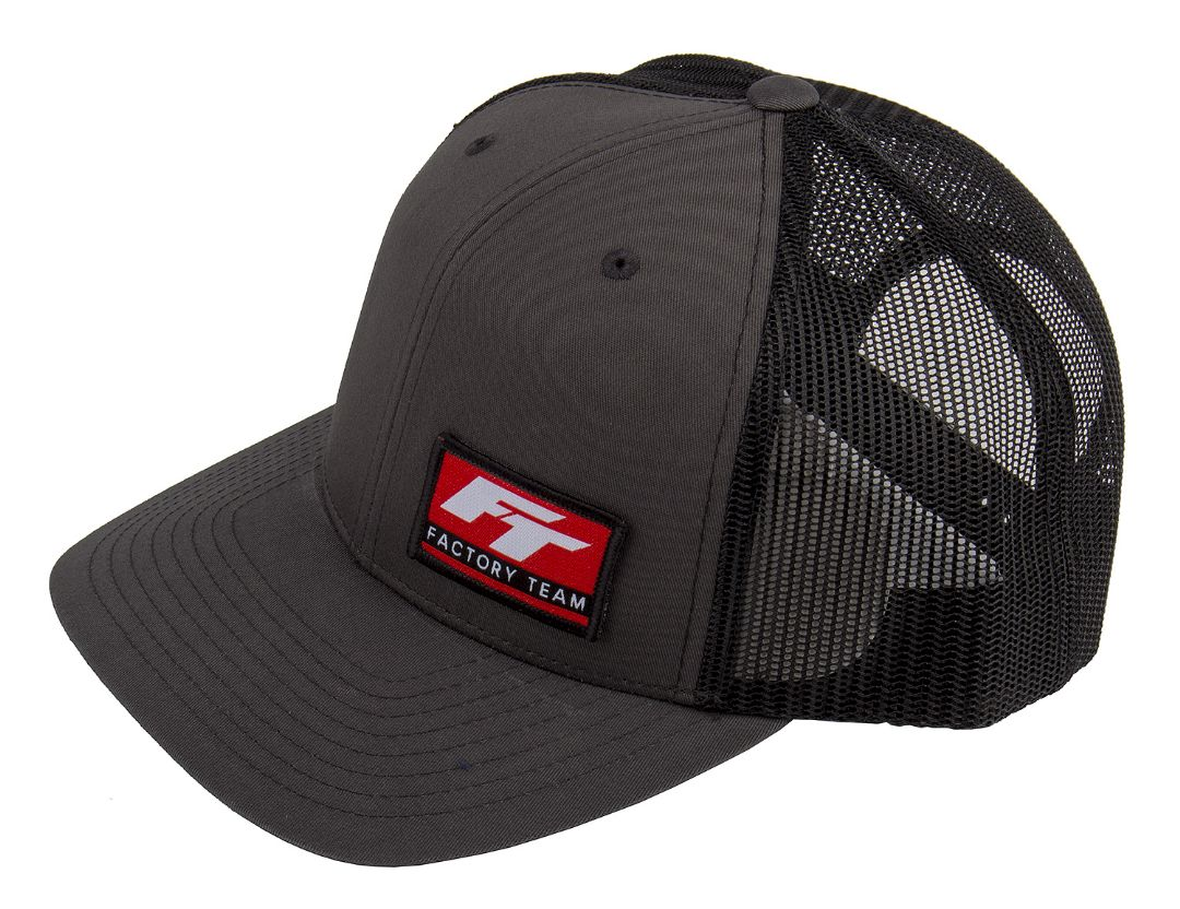 Team Associated Factory Team Logo Trucker Hat, curved bill