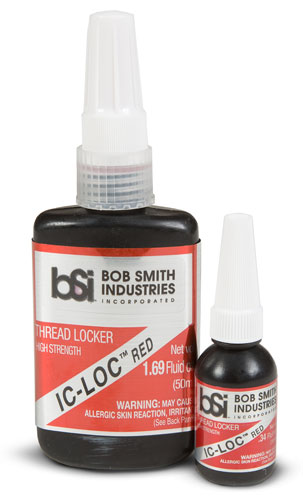 Bob Smith Industries IC-LOC Red Permanent Thread Lock (1.69oz)