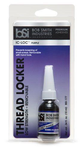 Bob Smith Industries Purple Thread Lock - Lower Strength (1/3oz)