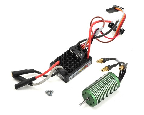 Castle Creations Mamba Micro X Waterproof 1/18th Scale Brushless Combo (5300KV)