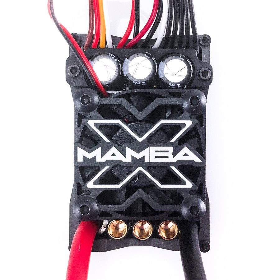 Castle Creations Mamba X, Sensored, 25.2V WP ESC, 8A Peak BEC, D