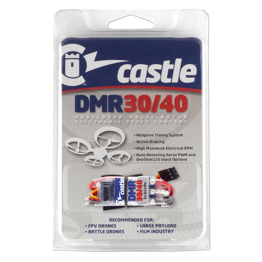 Castle Creations DMR 30/40 , Dedicated Multirotor ESC (4-PACK)