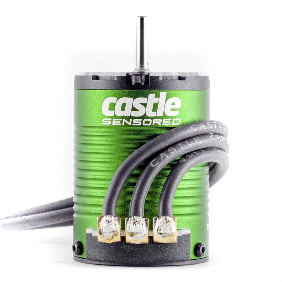 Castle Creations 4-Pole Sensored Brushless Motor 1406-7700KV
