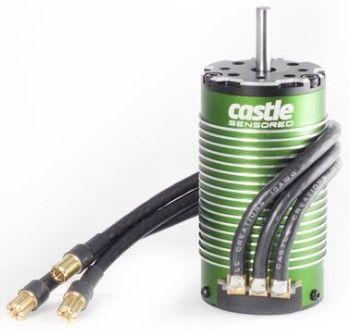 Castle Creations 4-Pole Sensored Brushless Motor 1512-1800KV