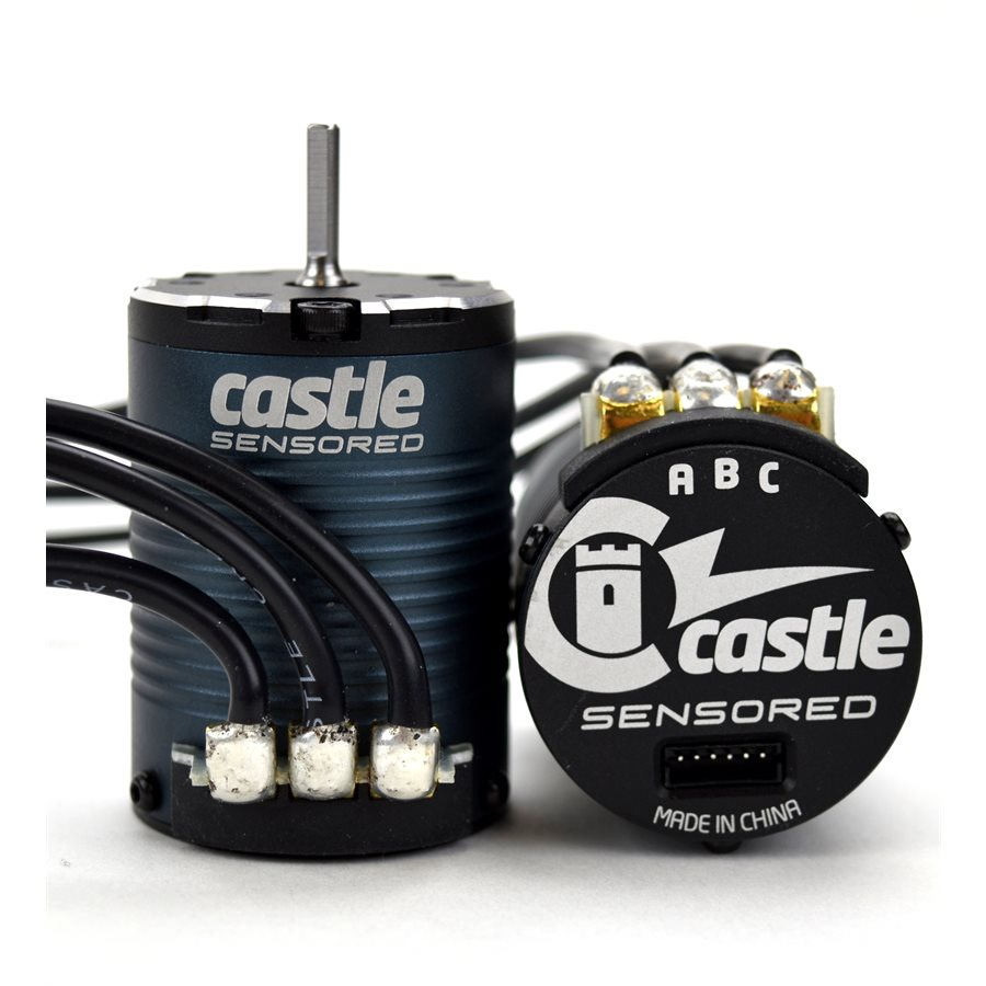 Castle Creations Motor, 4-Pole Sensored Brushless, 1406-1900KV