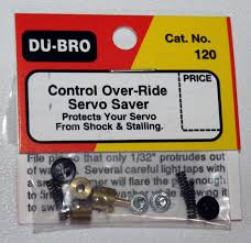 Du-Bro Control Over-Ride Servo Saver (QTY/PKG: 1 )