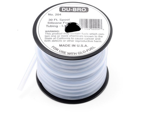Du-Bro 30 ft. Large Super Blue Silicone Tubing