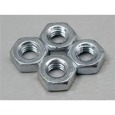 Du-Bro 3.0MM Steel Hex Nuts (4/pkg)
