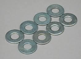 Du-Bro 4.0MM Flat Washers (8/pkg)